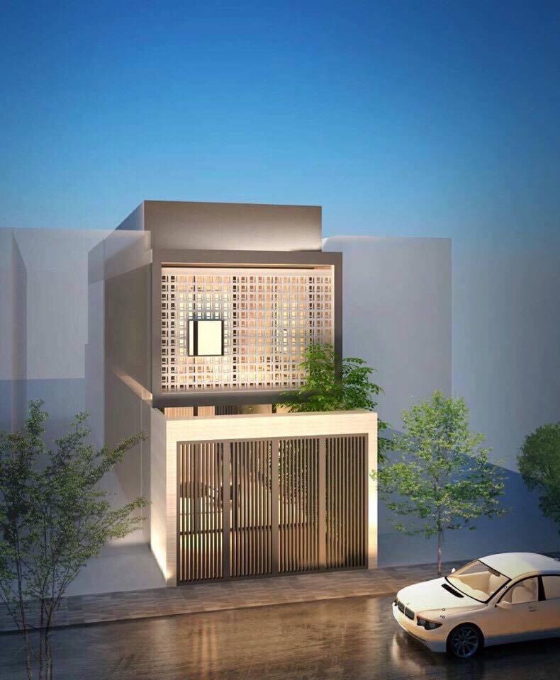 thiết kế nhà sử dụng gạch bông gió