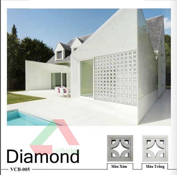 Gạch bông gió Diamond