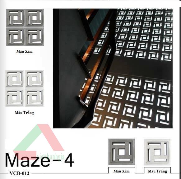 Gạch bông gió Maze-4