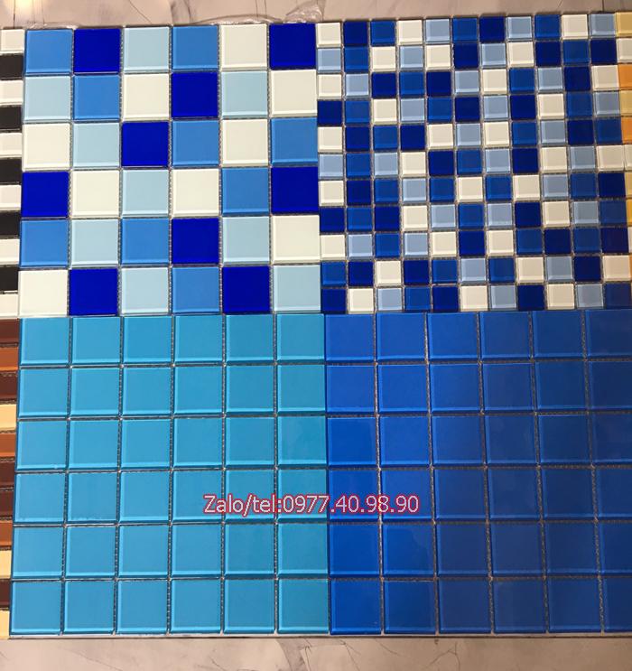 mau gach mosaic trang tri