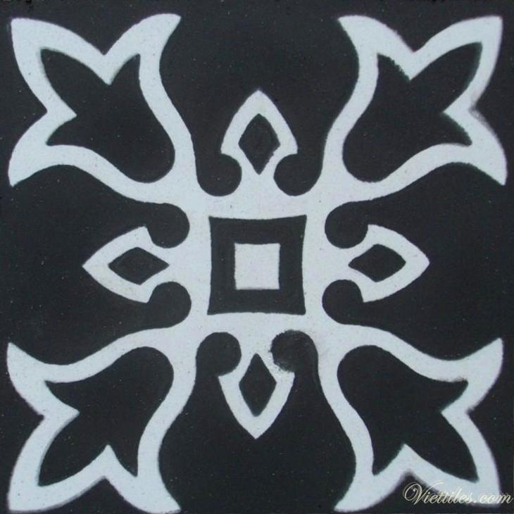 Gạch bông 10x10cm V10-01